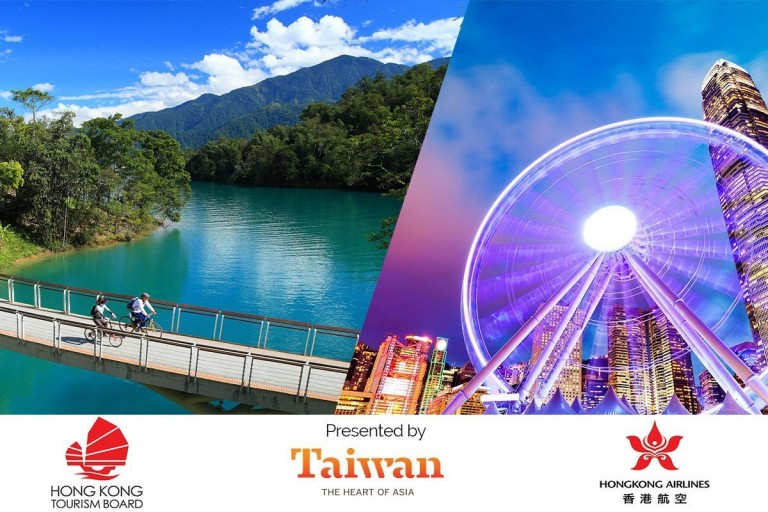 Here's your chance to explore Hong Kong & Taiwan